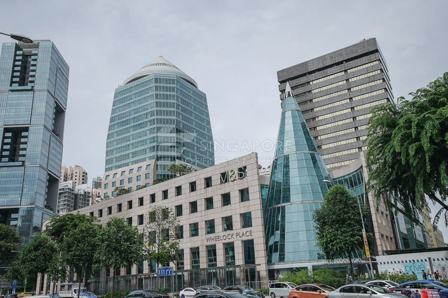 Wheelock Place Office For Rent Singapore 235