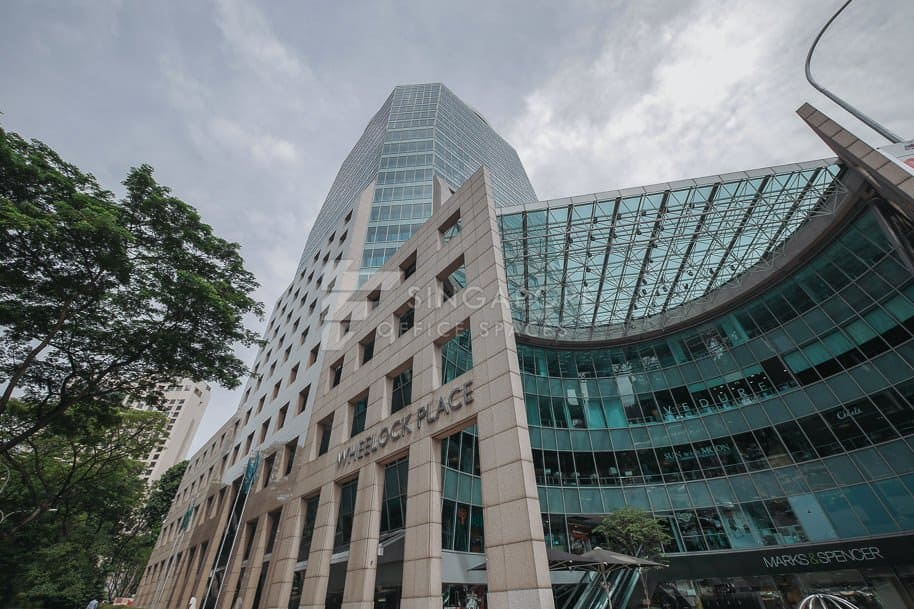 Wheelock Place Office For Rent Singapore 236