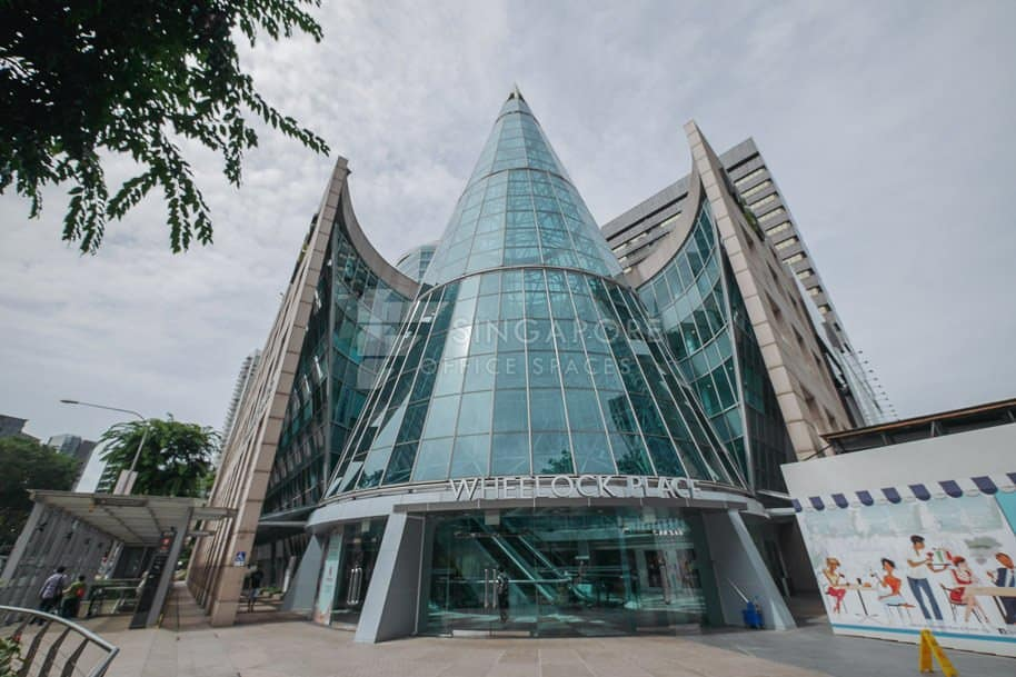 Wheelock Place Office For Rent Singapore 240