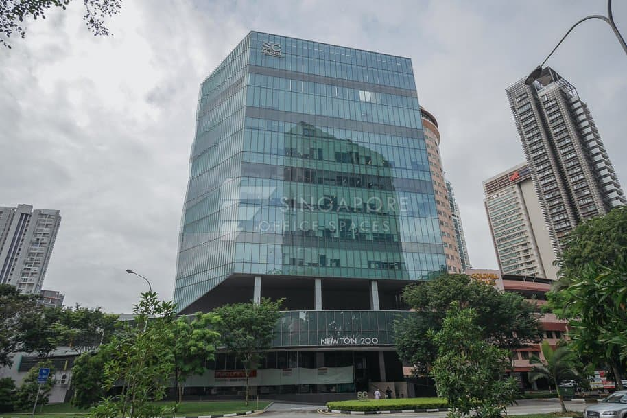Newton 200 Office For Rent Singapore 589