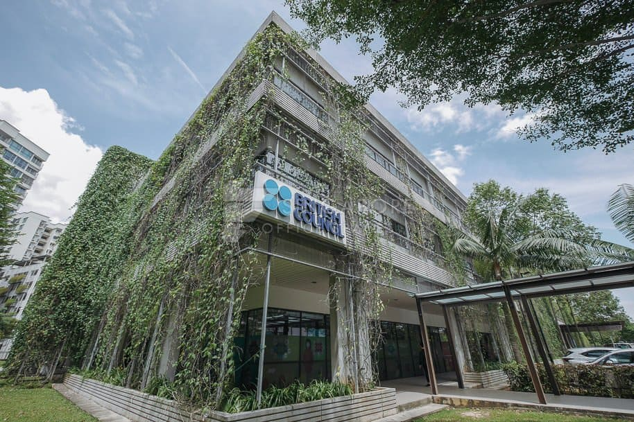 British Council Tampines Centre Office For Rent Singapore 918