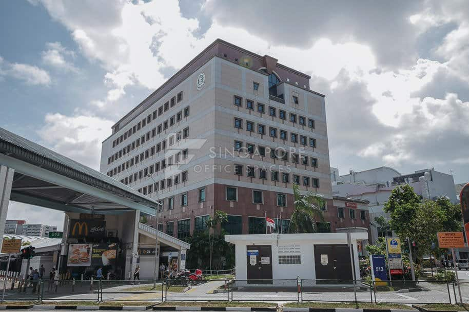 Cpf Tampines Building Office For Rent Singapore 884