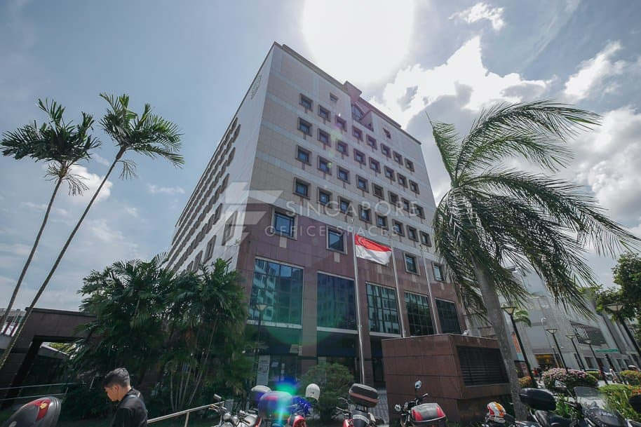Cpf Tampines Building Office For Rent Singapore 885