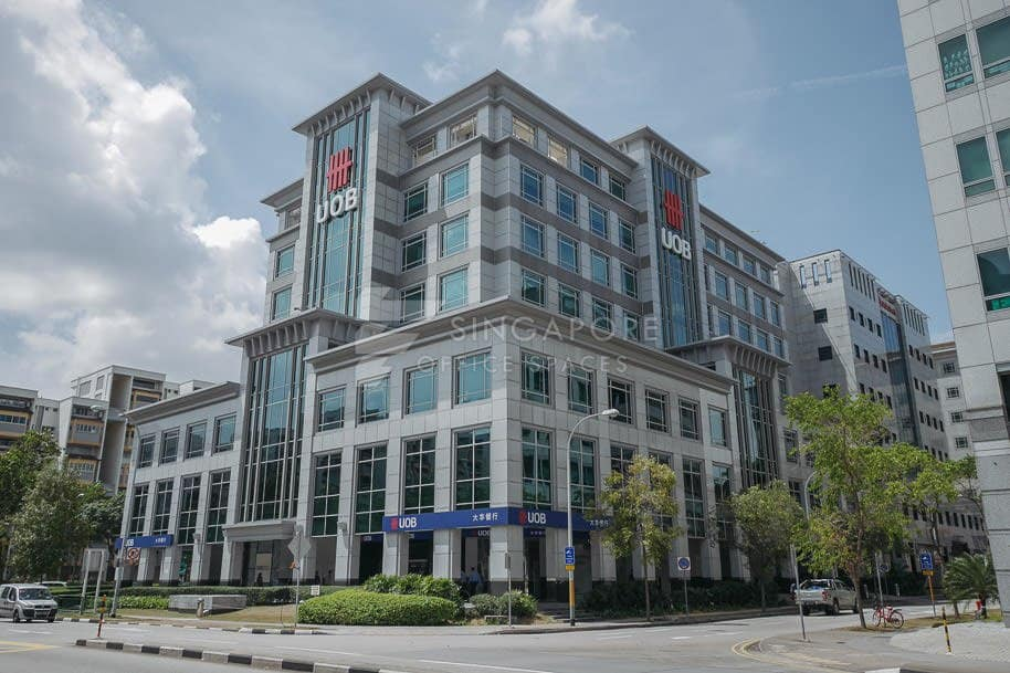Uob Tampines Centre Office For Rent Singapore 892