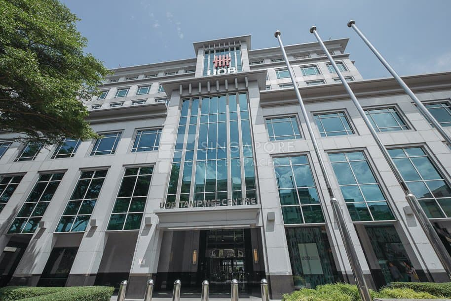 Uob Tampines Centre Office For Rent Singapore 895