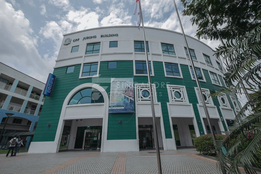 Cpf Jurong Building Office For Rent Singapore 321