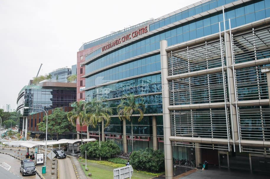 Woodlands Civic Centre Office For Rent Singapore 1165