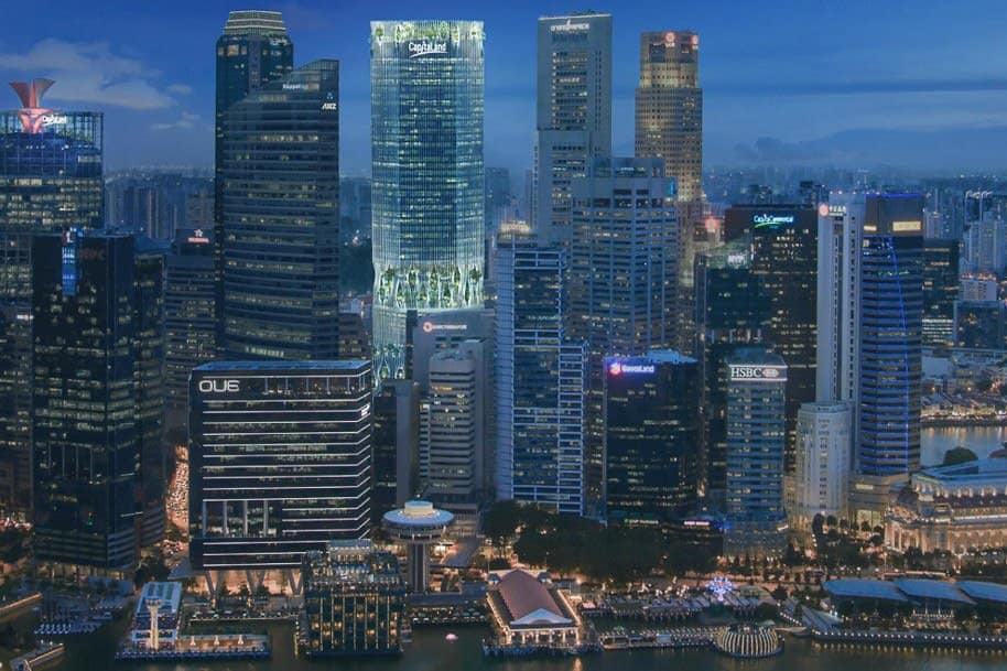 Capitaspring Office For Rent Singapore 21