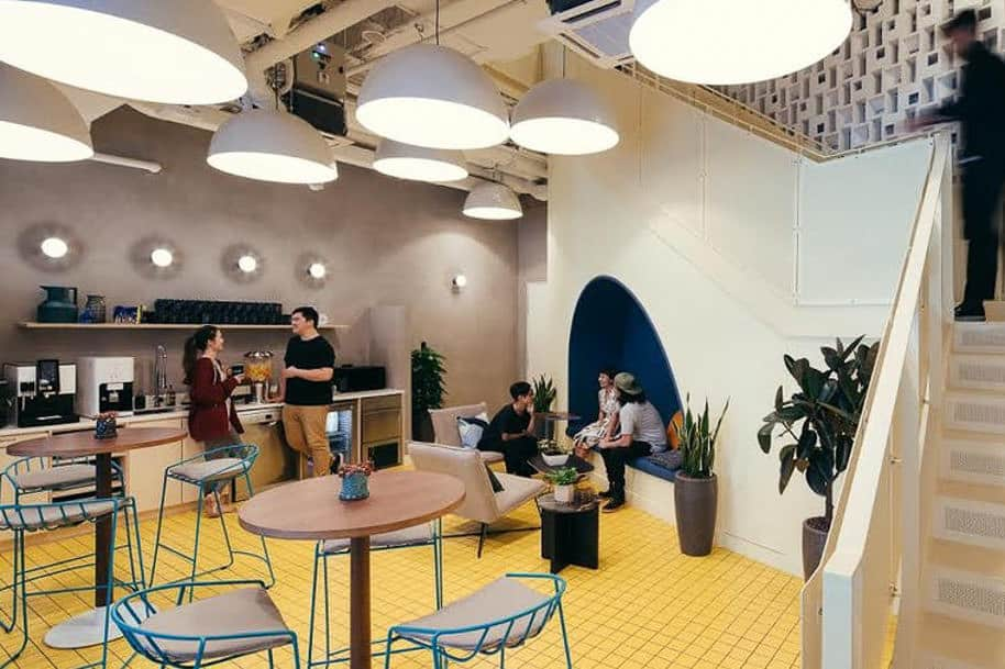 Coworking Space Beach Centre Wework 316