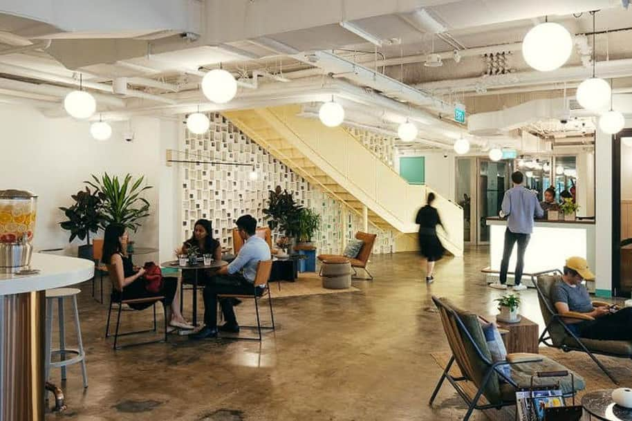 Coworking Space Beach Centre Wework 319