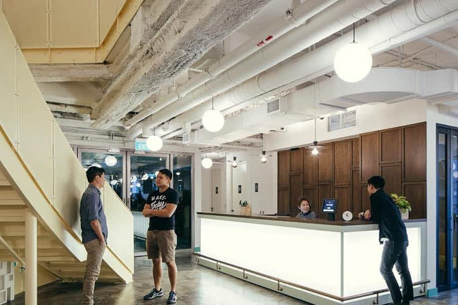 Coworking Space Beach Centre Wework 321