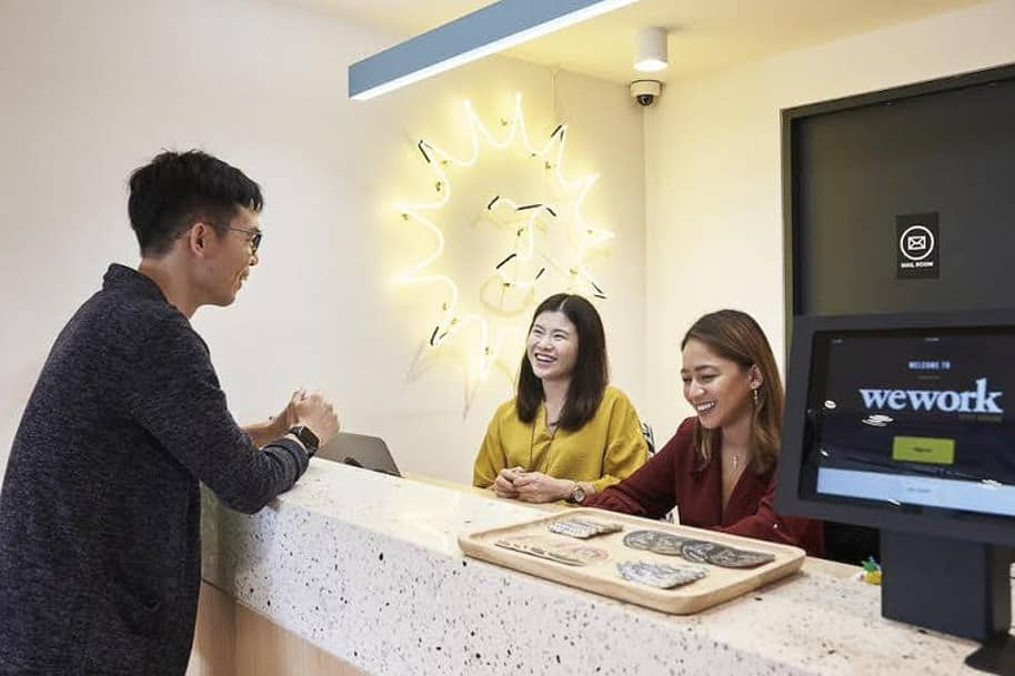 Coworking Space City House Wework 246