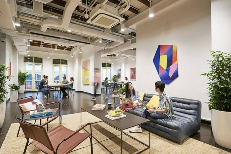 Coworking Space Cross Street Exchange Wework 253