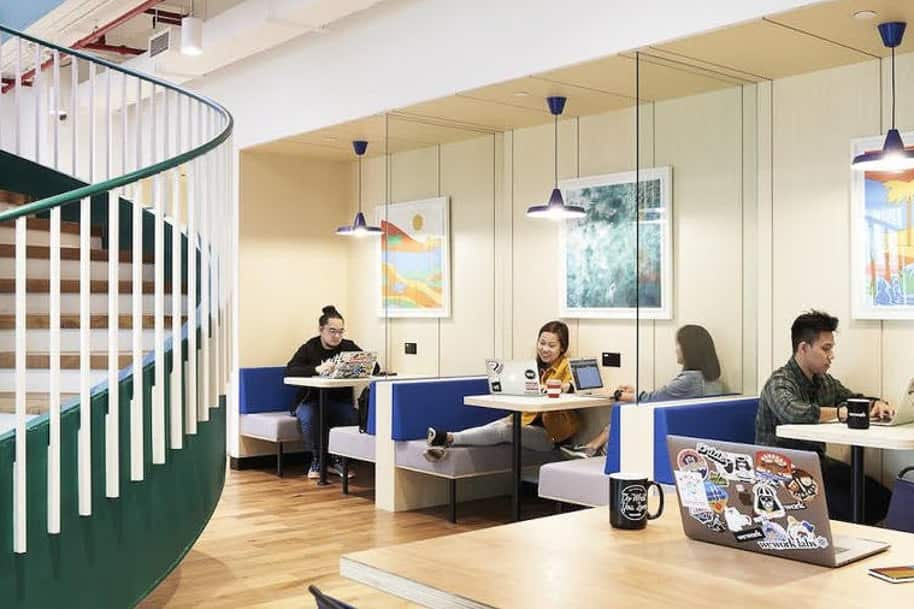 Coworking Space Manulife Tower Wework 303