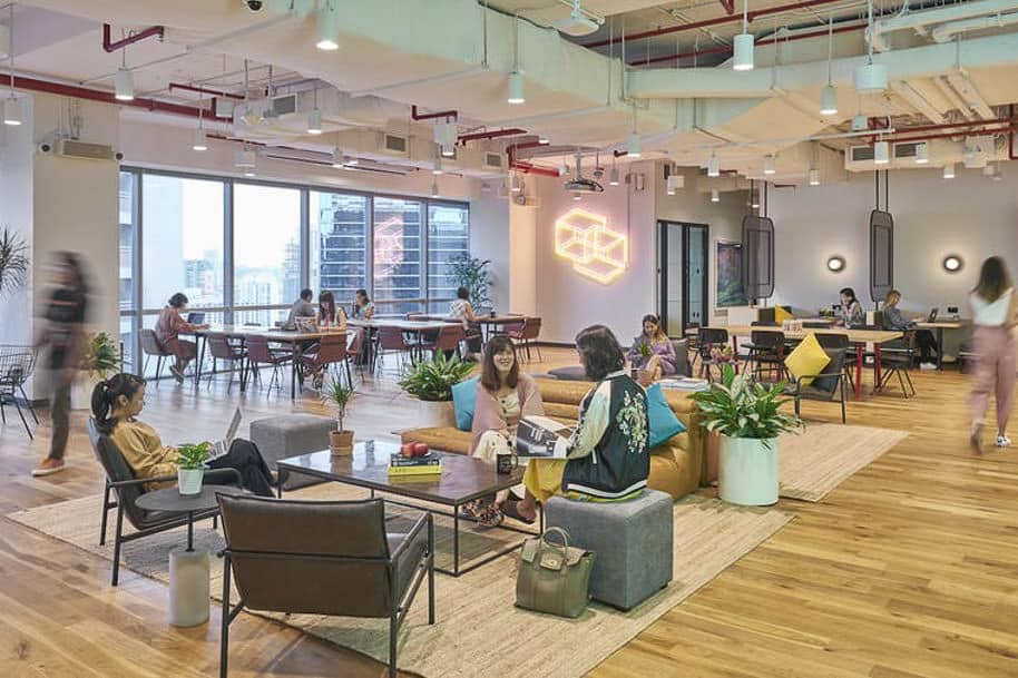 Coworking Space Mapletree Anson Wework 278