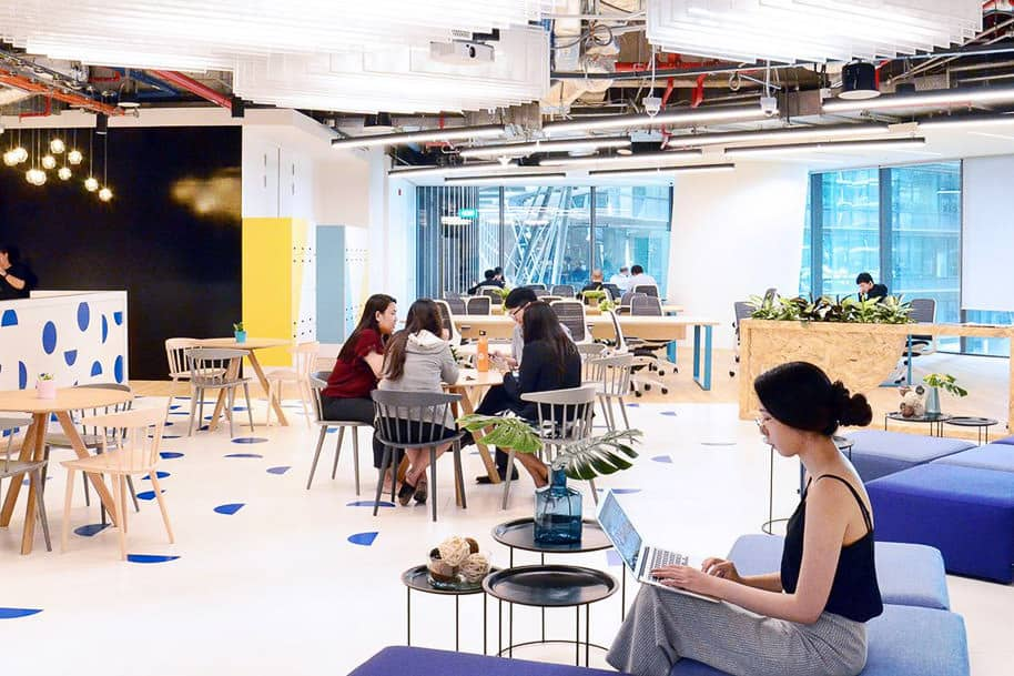 Coworking Space Marina One West Tower Justco 10