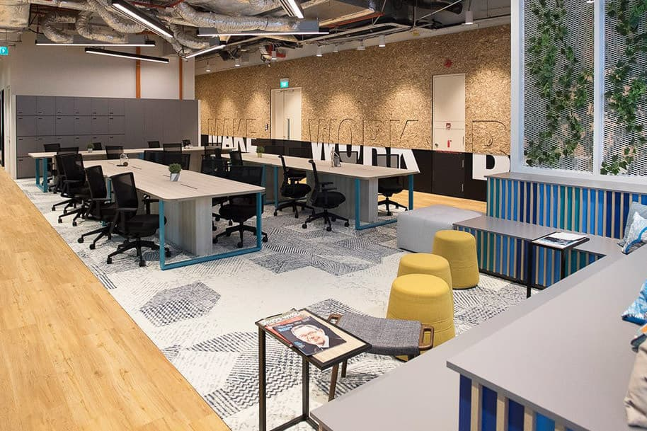 Coworking Space Ocean Financial Centre Justco 42