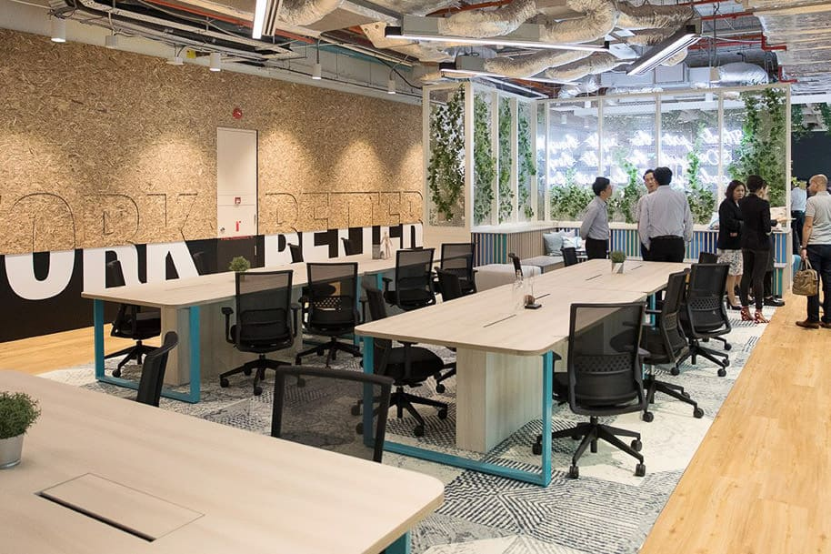 Coworking Space Ocean Financial Centre Justco 43