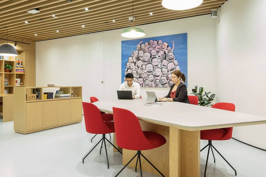 Coworking Space One Raffles Place Spaces 184