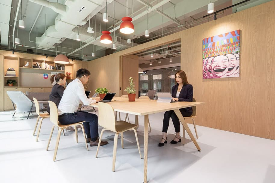 Coworking Space One Raffles Place Spaces 186