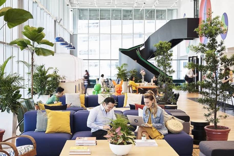 Coworking Space Suntec Tower 5 Wework 238