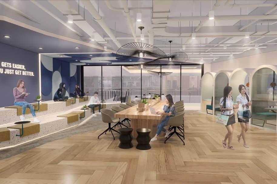 Coworking Space The Centrepoint Justco 357