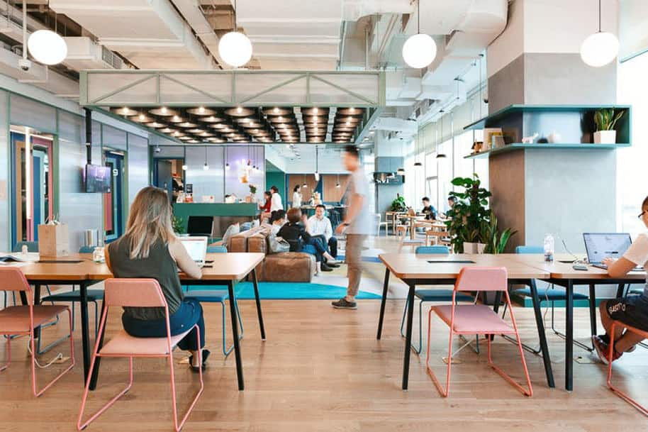 Coworking Space Ue Square Wework 290