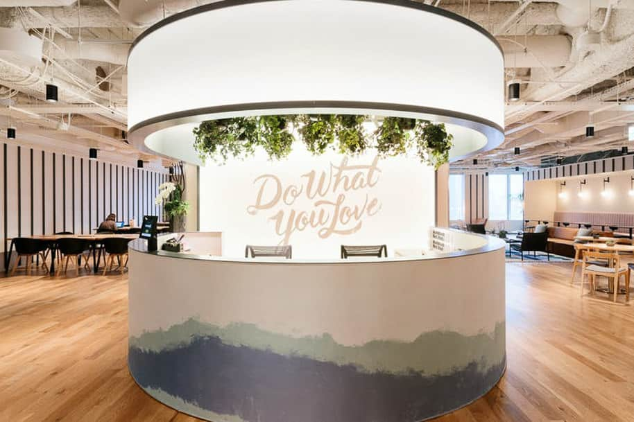 Coworking Space Ue Square Wework 292