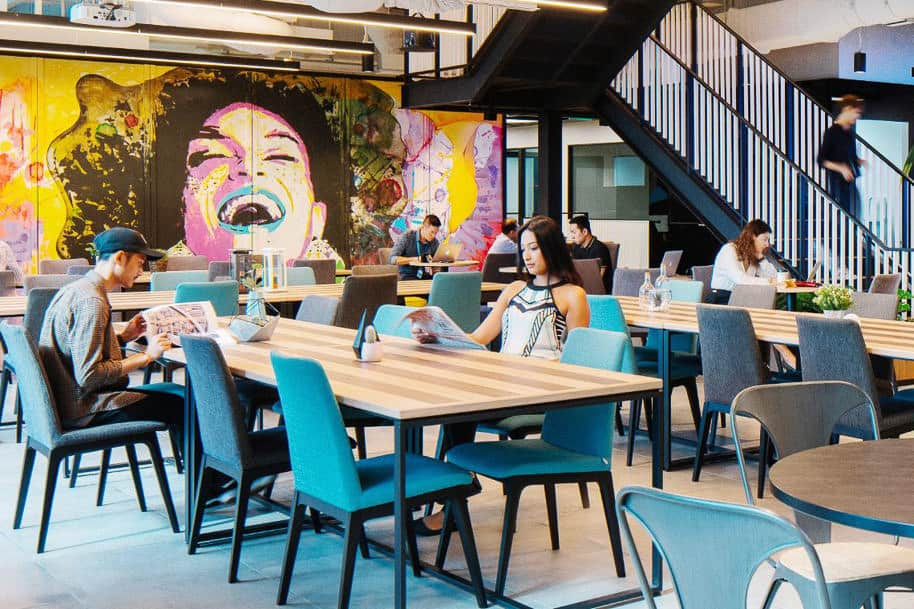 Coworking Space Uic Building Justco 07