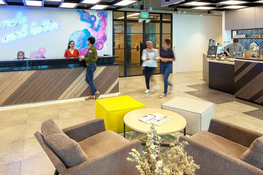 Coworking Space Uic Building Justco 44