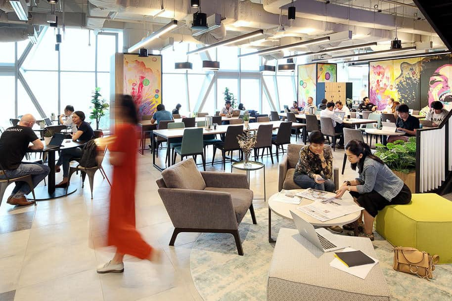 Coworking Space Uic Building Justco 45