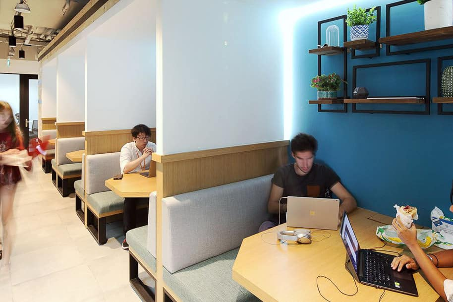 Coworking Space Uic Building Justco 46