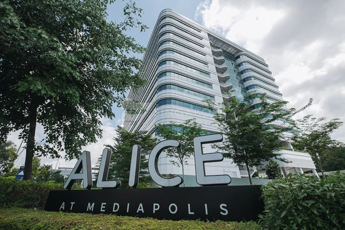 Alice At Mediapolis Office For Rent Singapore 131