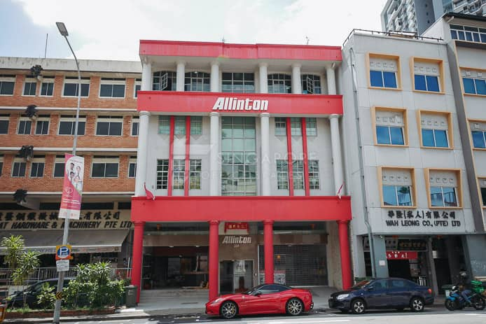 Allinton Office For Rent Singapore 126