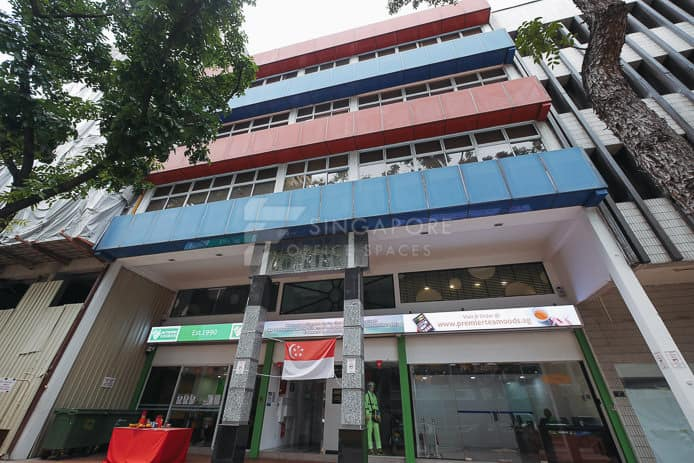 Network Courier Building Office For Rent Singapore 146