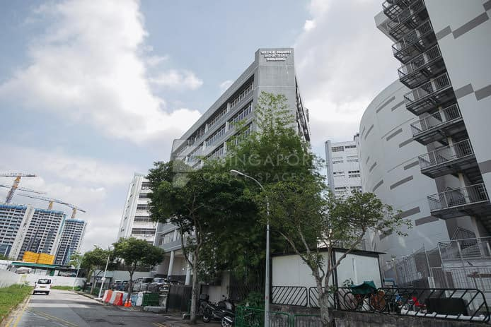 Wedge Mount Industrial Building Office For Rent Singapore 108