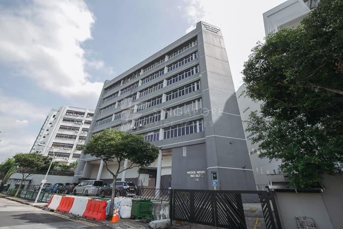 Wedge Mount Industrial Building Office For Rent Singapore 109