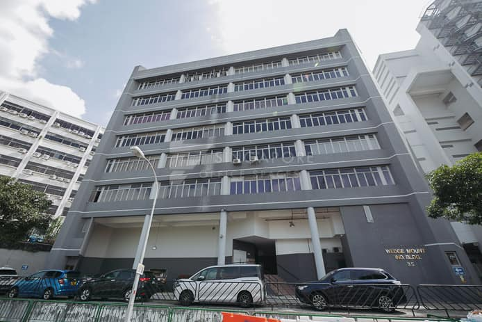 Wedge Mount Industrial Building Office For Rent Singapore 110